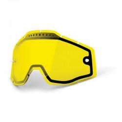 Ecran double ventilé  jaune