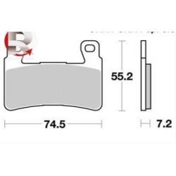 Plaquette de frein LMP460SF