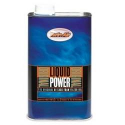 Huile Liquid power pour filtre à air Twin air 1 litre
