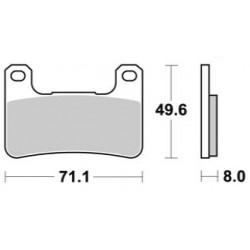 Plaquettes de frein LMP406SF