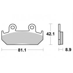 Plaquettes de frein LMP193ST