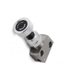 S-Limiteur/Régulateur de pression hydraulique à molette